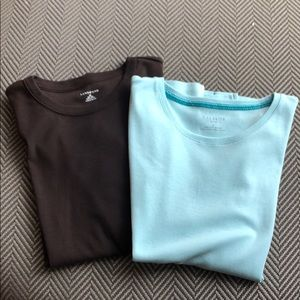 Lot of 2 Crew Neck T-shirts 1X